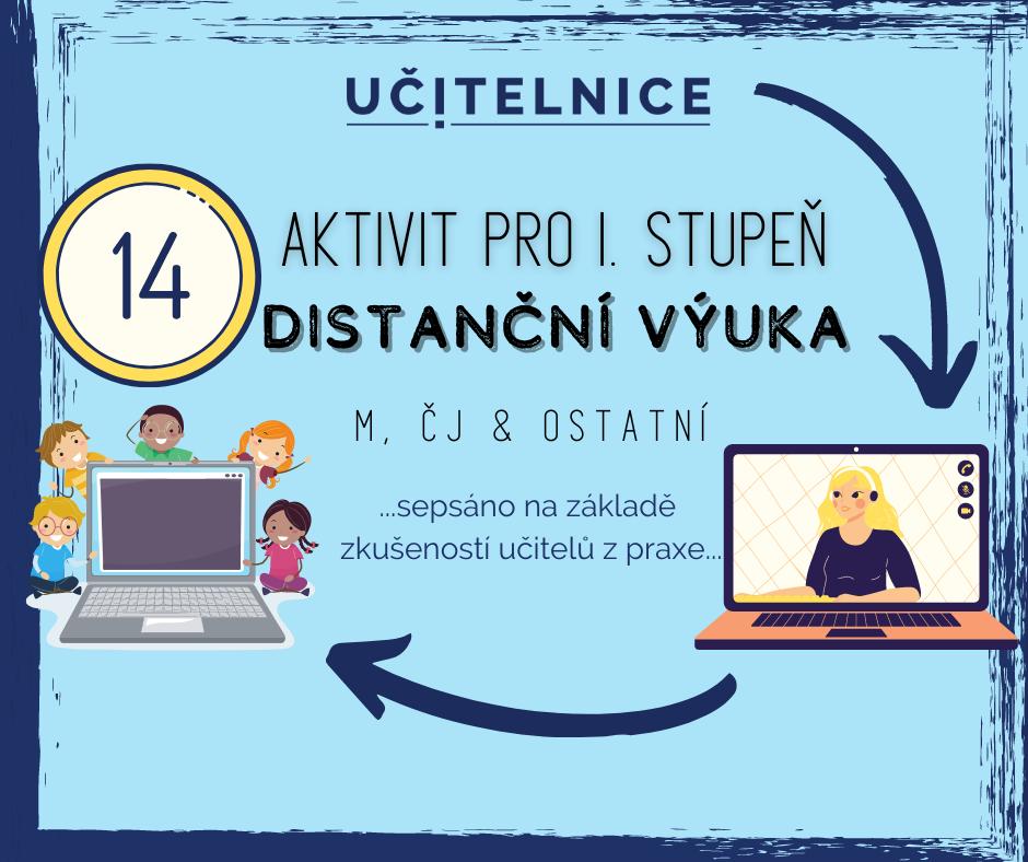 14 TIPŮ od učitelů na aktivizační aktivity pro distanční výuku