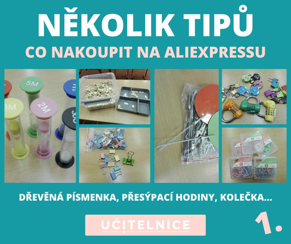 TIPY na nakupování na Aliexpressu I.